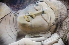 Buddha vänder mot Royaltyfri Fotografi