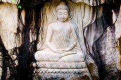 Buddha vänder mot Fotografering för Bildbyråer