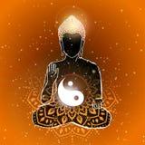Buddha vector art Stock Photos