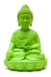 Buddha verde Fotografie Stock Libere da Diritti