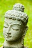 Buddha verde Imágenes de archivo libres de regalías