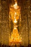Buddha verde smeraldo nel tempiale del tasung di Wat alla t Immagini Stock