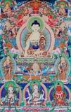 Buddha von thangka Stockbild