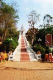 Buddha von wat phra dieses cho Hae bei Phrae Thailand Lizenzfreie Stockfotografie