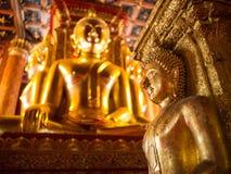 Buddha von wat phumin Stockbilder