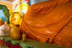 Buddha w Bandarawela Buddyjskiej świątyni na Sri Lanka Zdjęcia Stock
