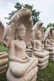 Buddha w lesie obraz royalty free
