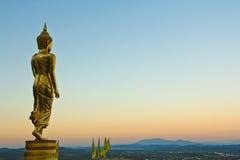 Buddha w Nan Prowinci, Tajlandia Zdjęcia Royalty Free