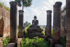 Buddha w ruinie Zdjęcie Stock