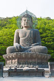 Buddha w Sinheungsa Świątyni Zdjęcia Stock