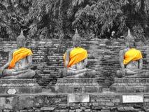 Buddha w Thailad Obrazy Stock