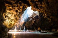 buddha w Tham Khao Luang jamie Zdjęcia Stock