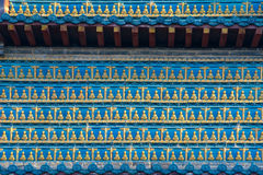 Buddha wall Stock Photography