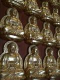 Buddha wall Stock Photo