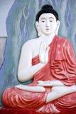 Buddha Wall Sculpture Royalty Free Stock Image
