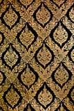 Buddha wall Thai style pattern. Buddha wall of Thai style pattern design Royalty Free Stock Photos