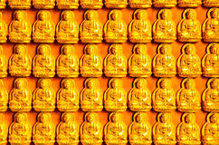 Buddha wall Stock Photography