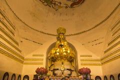 Buddha in wannian temple in mount emei,china Stock Image