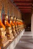 Buddha a Wat Arun, corsa di Bangkok Immagine Stock Libera da Diritti
