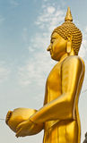 Buddha at Wat Arun soak up the bowl Royalty Free Stock Images
