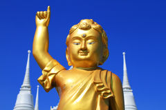 Buddha of Wat asokaram Royalty Free Stock Photography