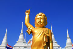 Buddha of Wat asokaram Royalty Free Stock Photo