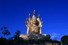Buddha / Wat Bang Riang in Phang Nga Province, Thailand. Stock Photos