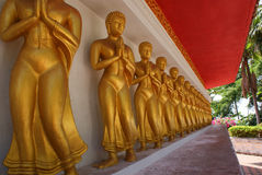Buddha / Wat Bang Riang in Phang Nga Province, Thailand. Royalty Free Stock Photos