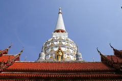 Buddha / Wat Bang Riang in Phang Nga Province, Thailand. Royalty Free Stock Photo