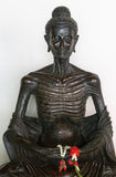 Buddha in wat benchamabophit, bangkok Stock Photo