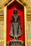 Buddha at wat Benchamabophit  in Thailand Royalty Free Stock Photo