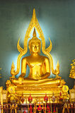 Buddha at  Wat Benjamobopith Royalty Free Stock Photography