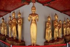 Buddha at Wat Chetuphonwimonmangklaram or Wat Pho in Bangkok. Th Stock Photo