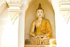 Buddha wat jedeliam chiangmai Thailand Stockfotografie