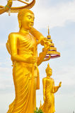 Buddha a Wat Kiriwong Fotografia Stock Libera da Diritti