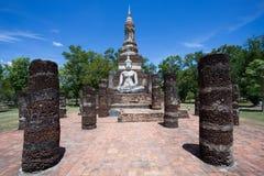 Buddha in Wat Mahathat. Sukhothai,Thailand Stock Photography