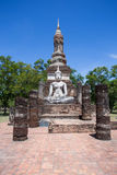 Buddha in Wat Mahathat. Sukhothai,Thailand Royalty Free Stock Photo