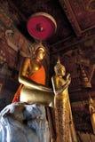 Buddha Wat Nang Ratchaworawiharn, Thailand Arkivbilder