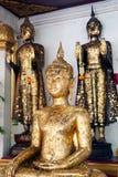 Buddha in Wat Naphameru-Tempel in historischem Park Ayutthaya von Thailand Stockfoto