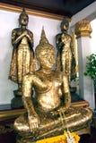 Buddha in Wat Naphameru-Tempel in historischem Park Ayutthaya von Thailand Lizenzfreies Stockfoto