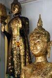 Buddha in Wat Naphameru-Tempel in historischem Park Ayutthaya von Thailand Stockbilder