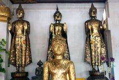 Buddha in Wat Naphameru-Tempel in historischem Park Ayutthaya von Thailand Lizenzfreie Stockfotografie