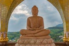 Buddha in Wat Phasornkaew Thailand Fotografia Stock