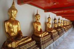Buddha at Wat Pho Mangklaram unblemished. Royalty Free Stock Images