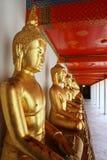 Buddha at Wat Pho Mangklaram unblemished. Royalty Free Stock Photography