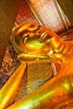 Buddha in Wat Pho thailand. Buddha statue at Wat Phra Chettuphon Wimon Mangkhlaram Ratchaworamahawihan (Wat Pho) in Thailand Royalty Free Stock Photo