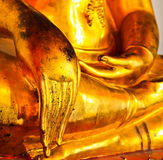 Buddha in Wat Pho thailand Royalty Free Stock Images