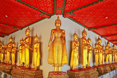 Buddha in Wat Pho thailand Royalty Free Stock Photography