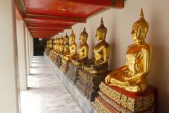 Buddha Wat Pho Thailand Arkivfoto