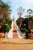 Buddha of wat phra that cho Hae at Phrae Thailand Royalty Free Stock Photography